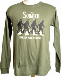 LONG SLEEVE T-SHIRT THE SQUATCH